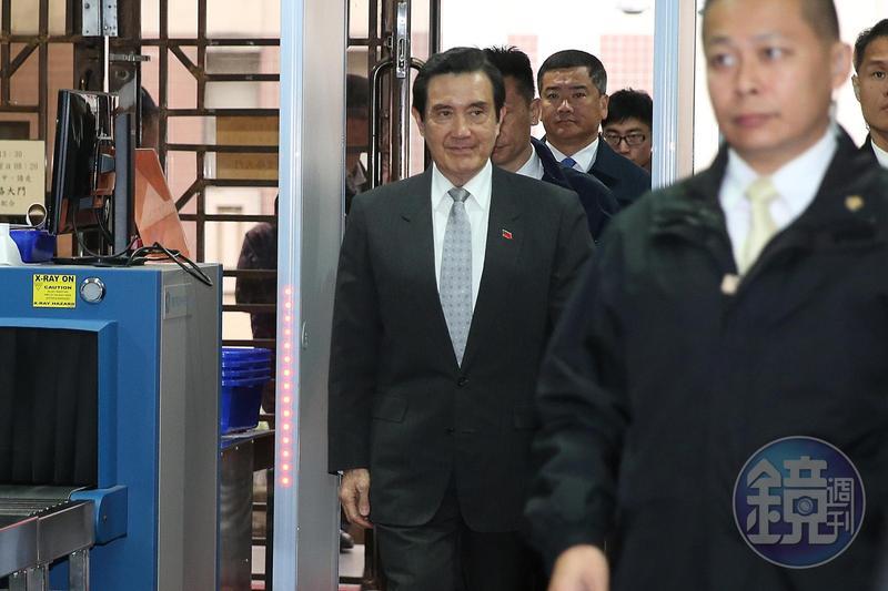 前總統馬英九今出席活動,表示還沒領三倍券,因為程序看起來很複雜。(資料照)