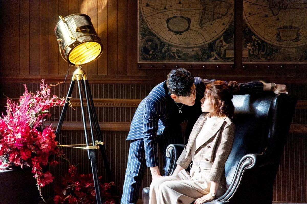 張立昂佩戴Qeelin Wulu吊墜於最新偶像劇《浪漫輸給你》展現霸道總裁品味。(Qeelin提供)