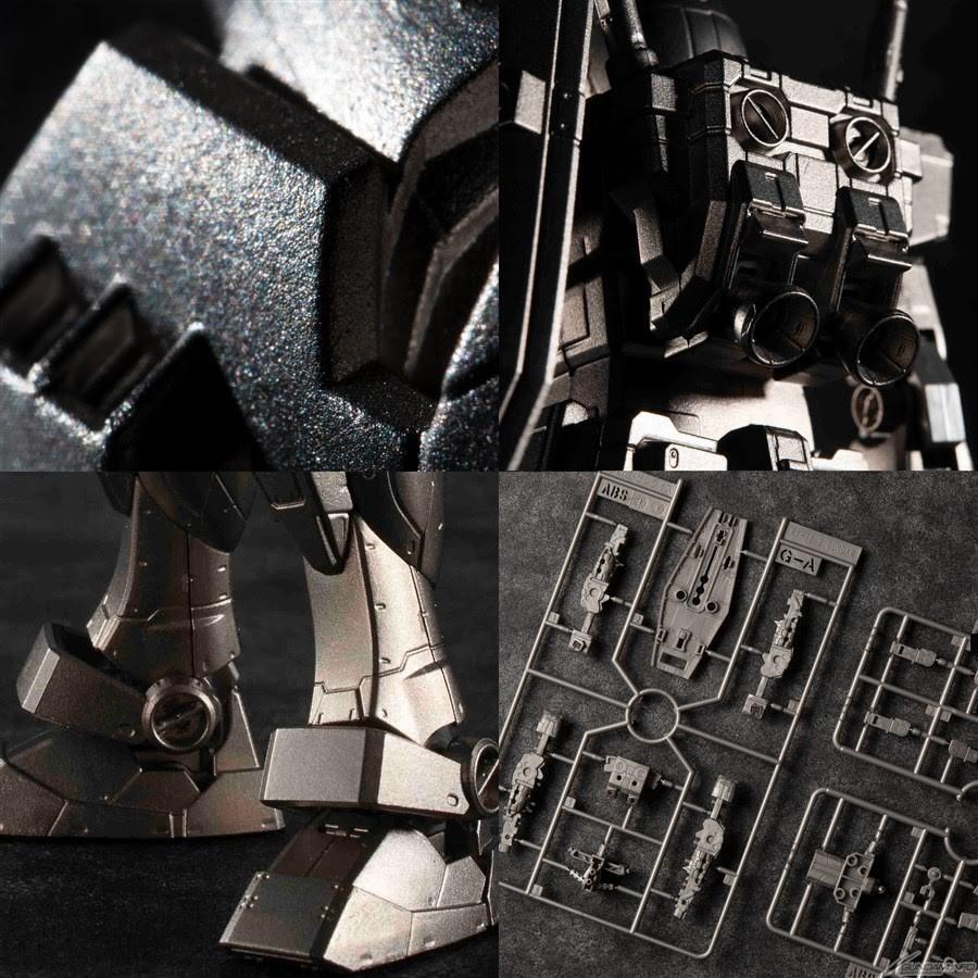 裝甲、武器等零件大多也是用鋼彈合金製成。(翻攝自GUNDAM.INFO)