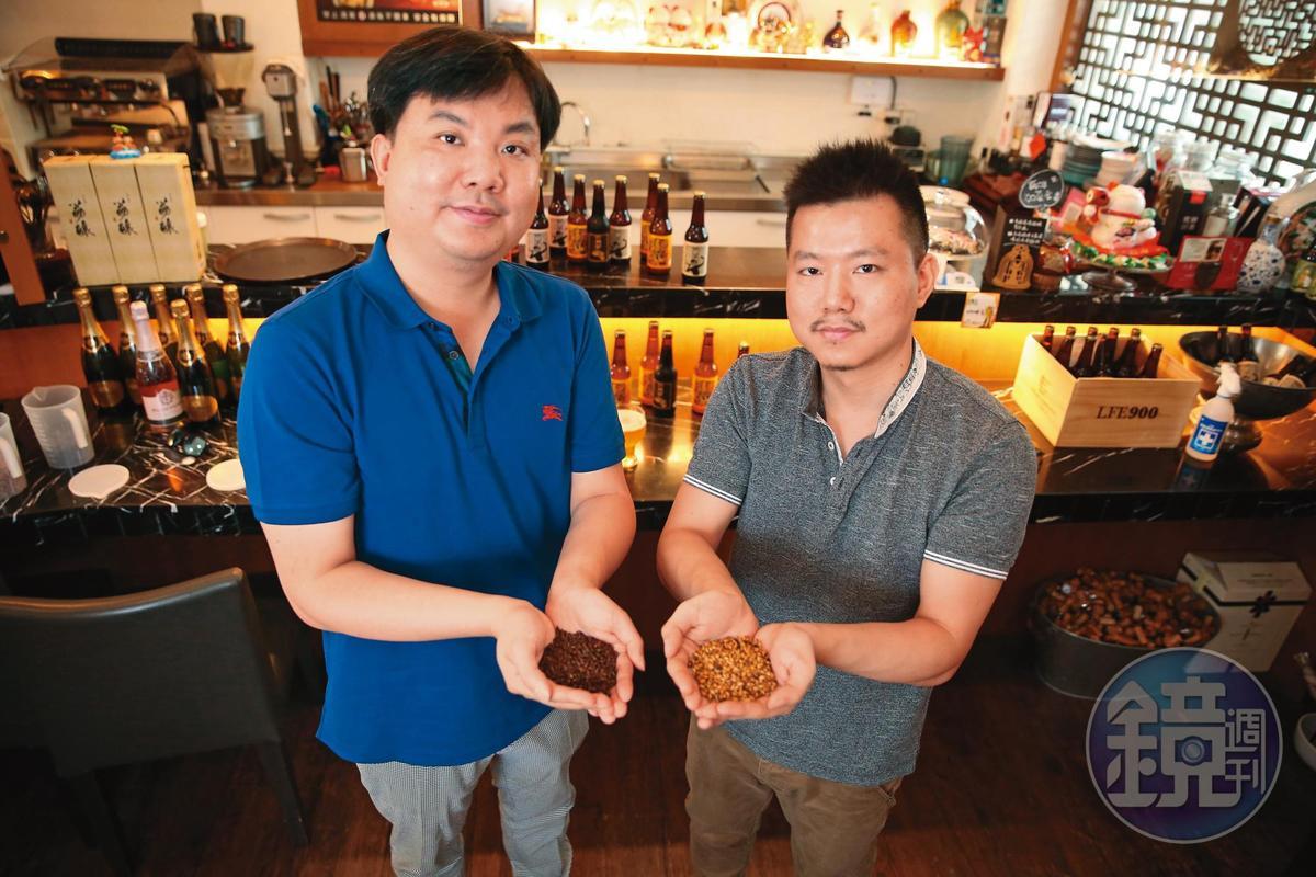 為了釀出最順口的作品,2人經常都在研究不同啤酒花、酵母和麥芽交織出的最佳組合。