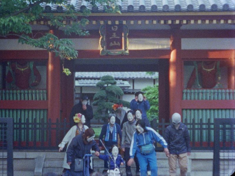 《天亮前的戀愛故事》使用16釐米膠卷拍攝,在日本沖洗底片的品質比台灣好,費用也更便宜。(林君昵提供)