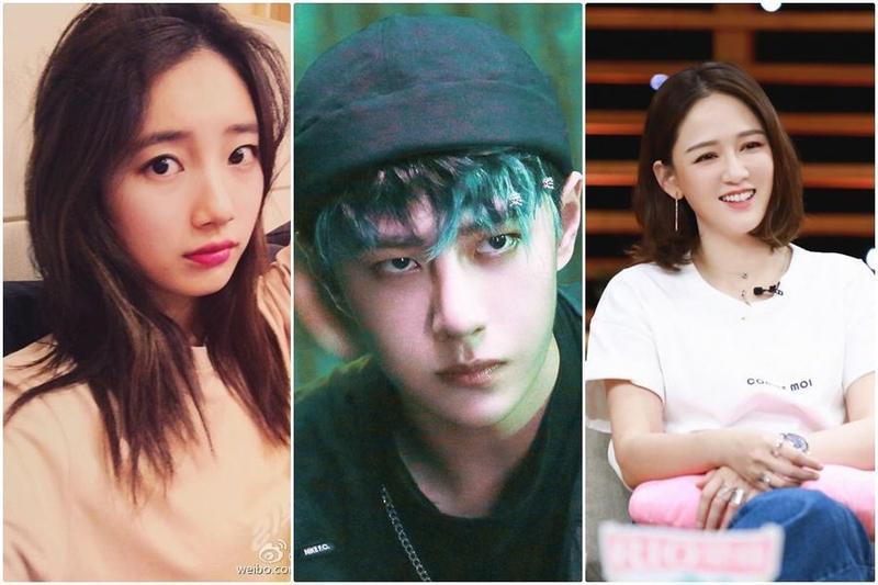 娛樂圈內類似這種人比團突出的例子不少,包括韓星裴秀智(左)、王一博(中)及陳喬恩(右)。