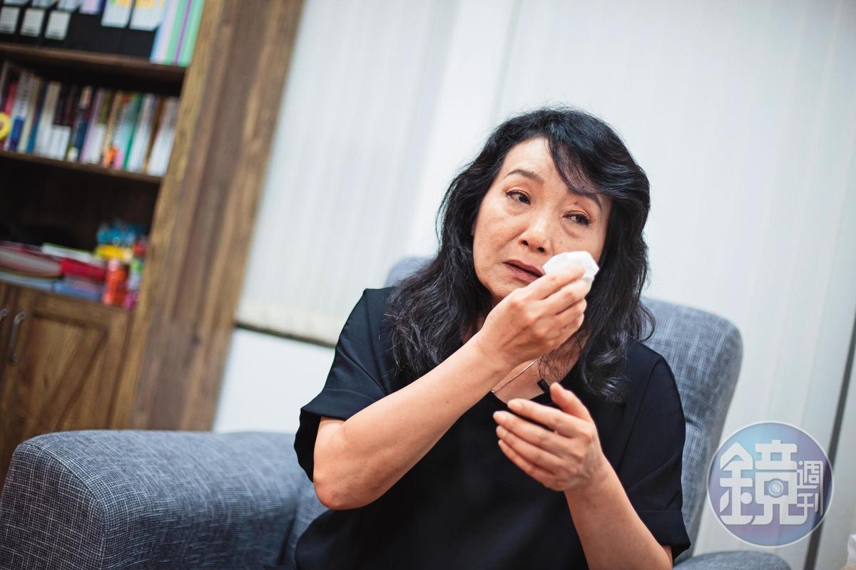 王薇君(圖)說,姪子王昊改變了她的後半生,她成立兒權會後不只協助兒虐案件,對刑案重傷死亡的家屬也主動義務協助。