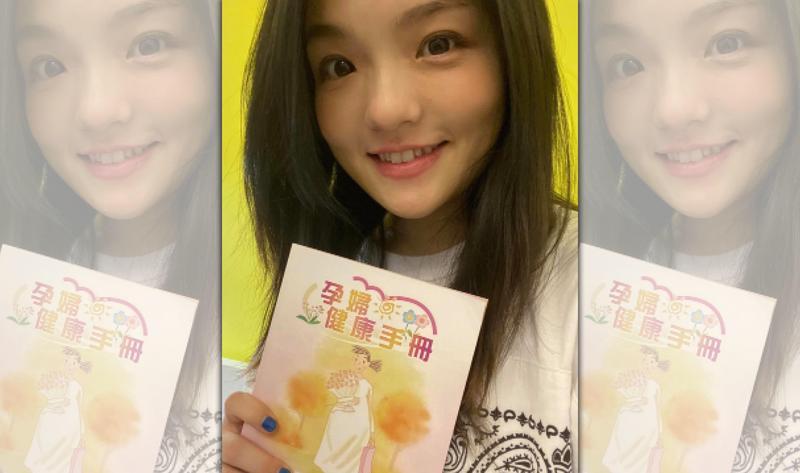 徐佳瑩在臉書上分享已懷孕5個月的喜訊。(翻攝自徐佳瑩臉書)
