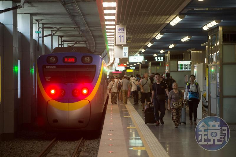 基隆市將蓋輕軌,並規劃台鐵未來不進基隆站,消息讓高密度通勤族的大票基隆人急跳腳。(本刊資料照)