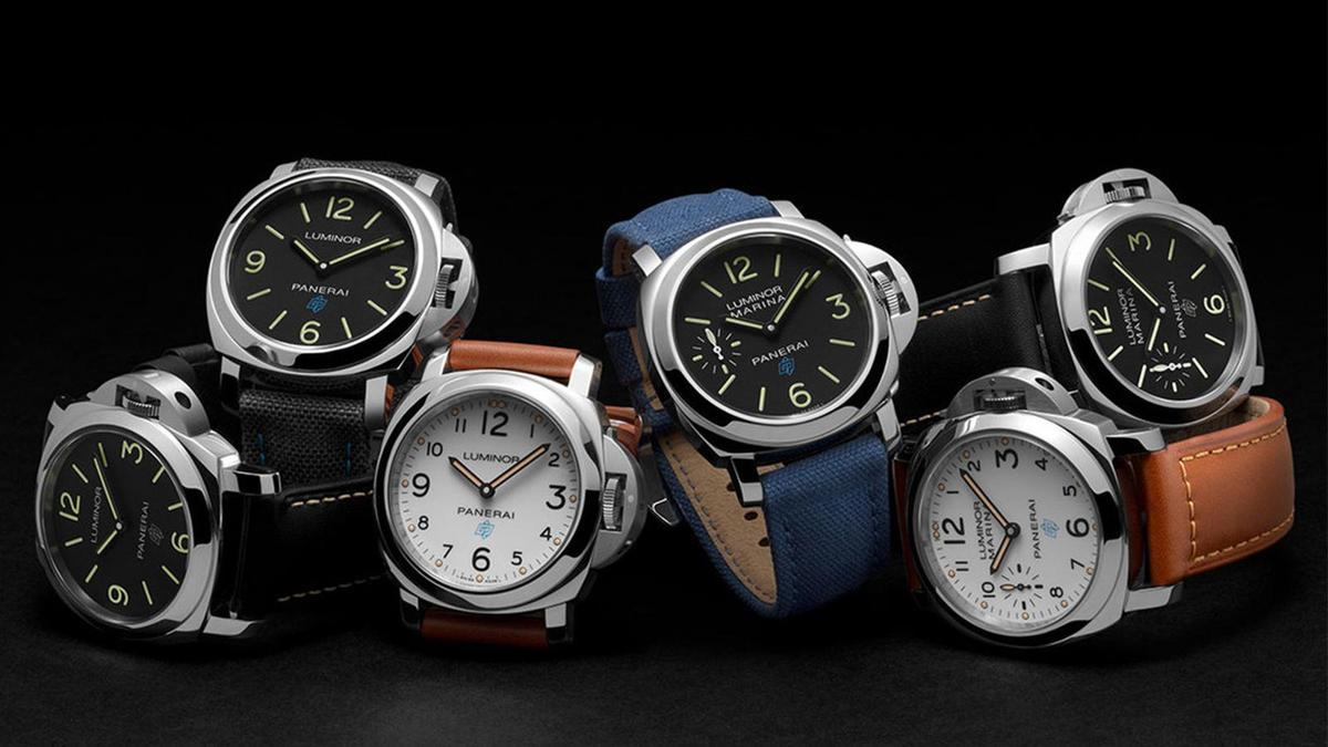 2018年為了迎接P.6000機芯的問世,沛納海推出六款的手錶,兩針款的Luminor Base Logo(PAM00773、774、775)、和小三針的Luminor Marina Logo(PAM00776、777、778)各三款。