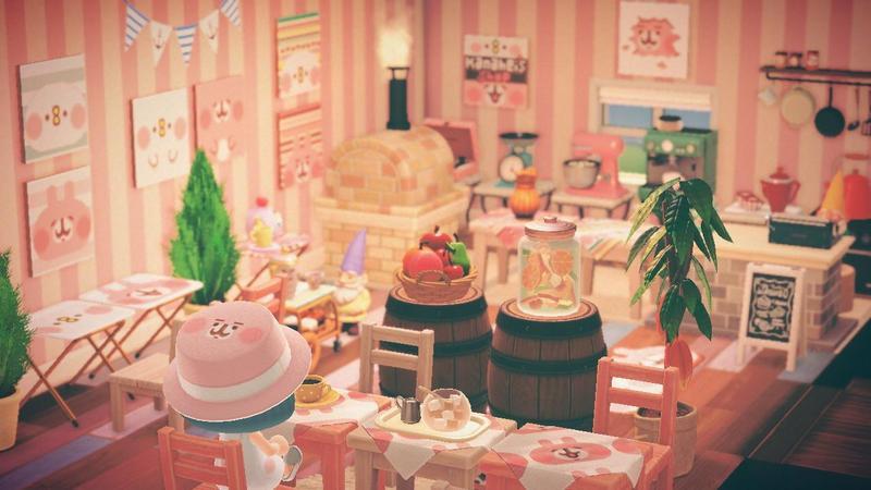《集合啦!動物森友會》今日開放「夢境島嶼」功能,圖為日本插畫家卡娜赫拉的島嶼。(翻攝自@kanahei_ Twitter)