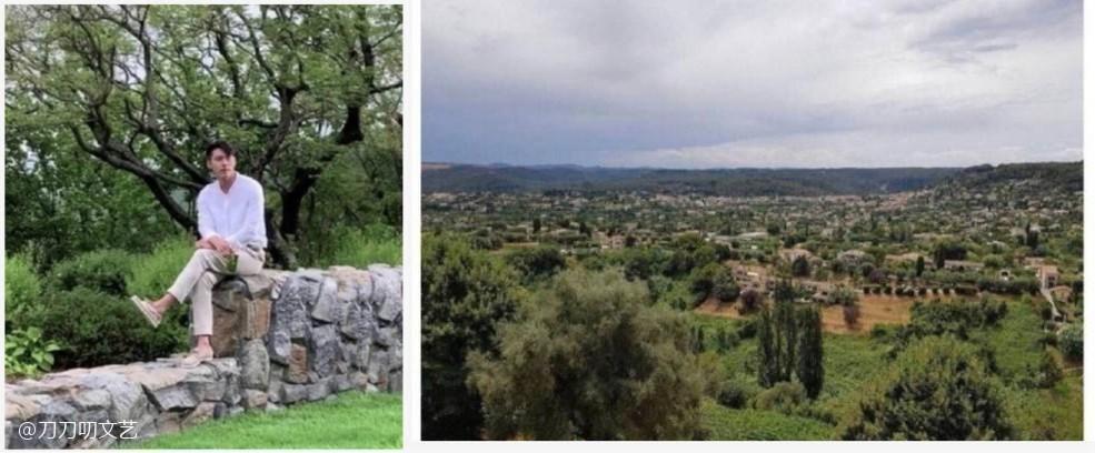 5月時宋慧喬上傳的風景照,與玄彬拍廣告的地點非常相似。(網路圖片)