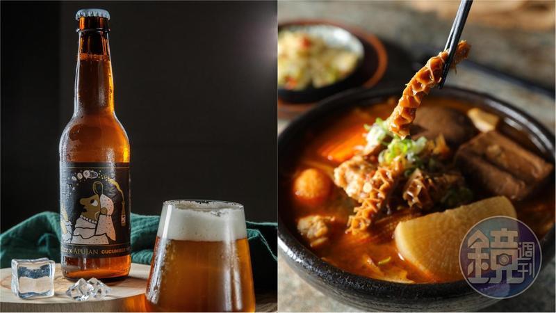 外帶「O.NE麻辣燙」和「米凱樂」精釀啤酒,一個人在家就能來一場酣暢滿足的餐酒搭。