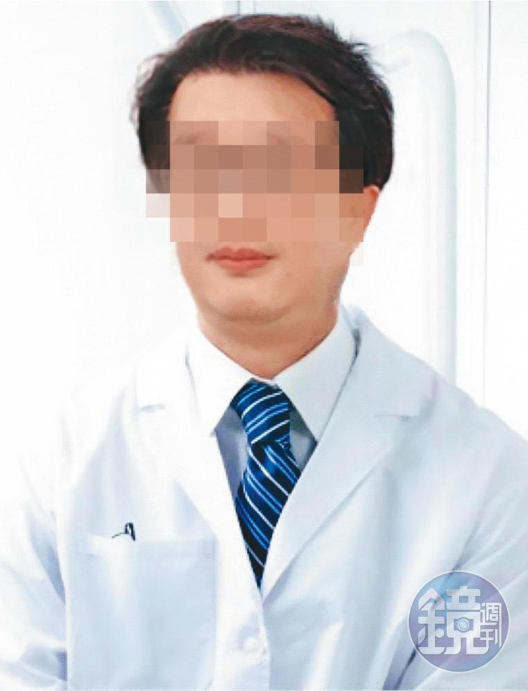 形象專業的施姓牙醫涉嫌偷拍,遭警方約談並移送地檢署偵辦,目前向診所請假中。(翻攝診所網站)