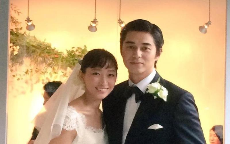 渡邊杏與東出昌大在2015年結婚,婚後育有3名兒女。(翻攝自網路圖片)