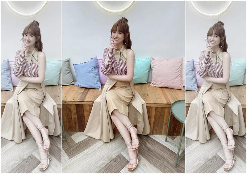 Sandy吳姍儒工作滿檔,近期與圈內好友、彩妝師和服裝師一起拍賣二手衣。(翻攝自吳姍儒IG)