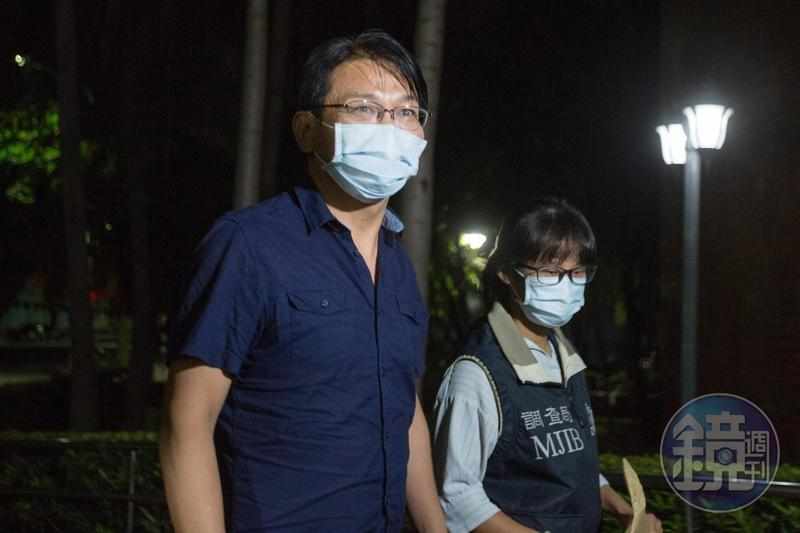 SOGO經營權之爭爆發行賄案,檢方認定時代力量黨主席徐永明涉嫌重大,遭聲押禁見。