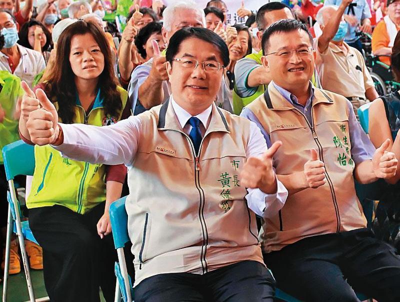 陳怡擔任台南市衛生局長3年多,是市長黃偉哲的愛將。(翻攝台南健康報馬仔臉書)