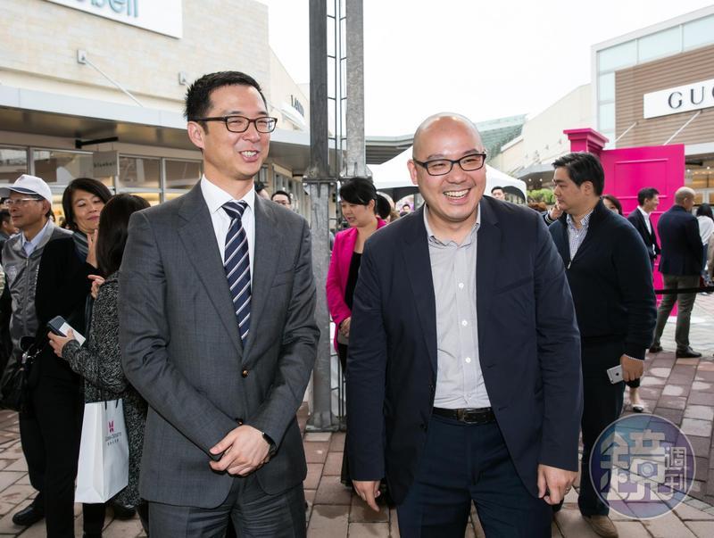 蔡宗翰和華泰名品城執行長陳炯福是好友,也因此和日本西武集團搭上線。