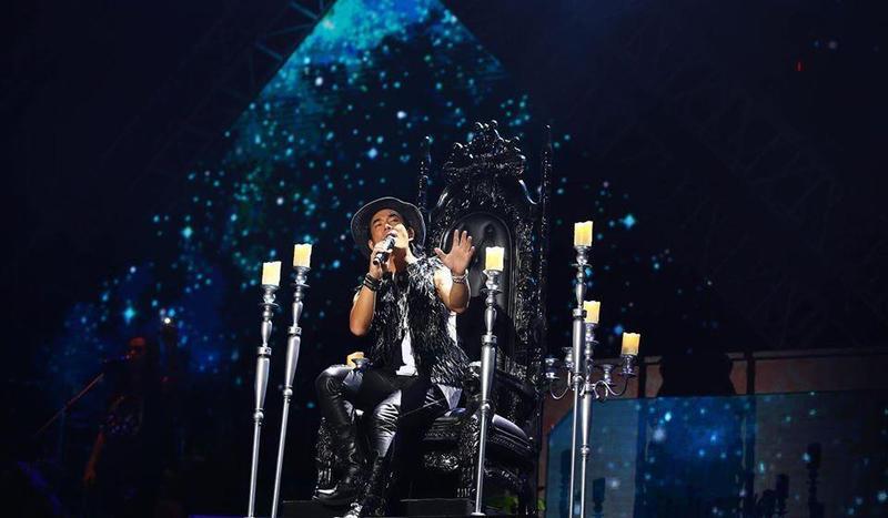 以歌手出道的任賢齊,以「齊式情歌」的親民形象深入人心。(翻攝自任賢齊臉書)