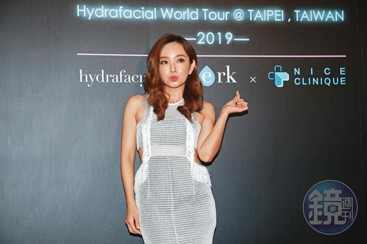 因為沒領到券讓愛紗頗為失落,直喊想要歸化台灣國籍拿身分證。