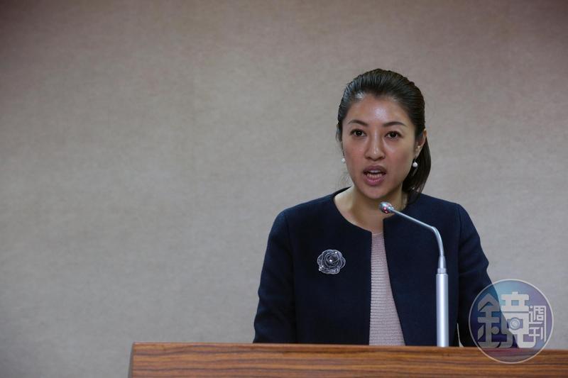 國民黨立委許淑華被爆料碩士論文涉嫌抄襲,對此她提出聲明反駁。(本刊資料照)