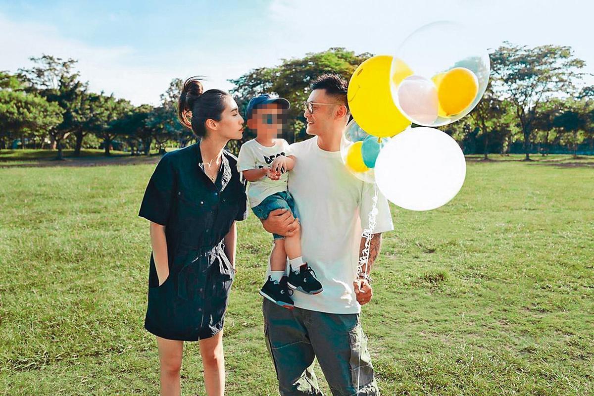 台灣女婿余文樂自今年二月起跟太太及兒子長期留在台灣居住,上月更公布太太懷上第二胎,前世情人來報到。(翻攝自余文樂IG)
