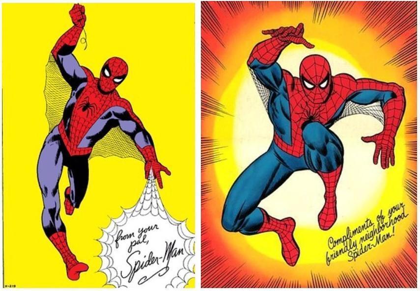 《漫威復仇者聯盟》登場的蜘蛛人,會參考漫畫造型設計。(翻攝自PlayStation.Blog)