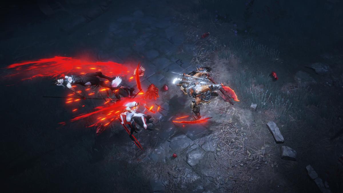 《暗黑破壞神 永生不朽》釋出多張遊戲實機截圖。(翻攝自Blizzard官網)