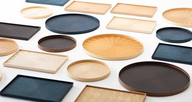被獲選為「Takumi next 」扶持企業之一的大利木材,其產品素以靛藍塗裝著稱。圖為旗下品牌AOLA的商品。(翻攝自未來市The Future Gala FB粉絲專頁)