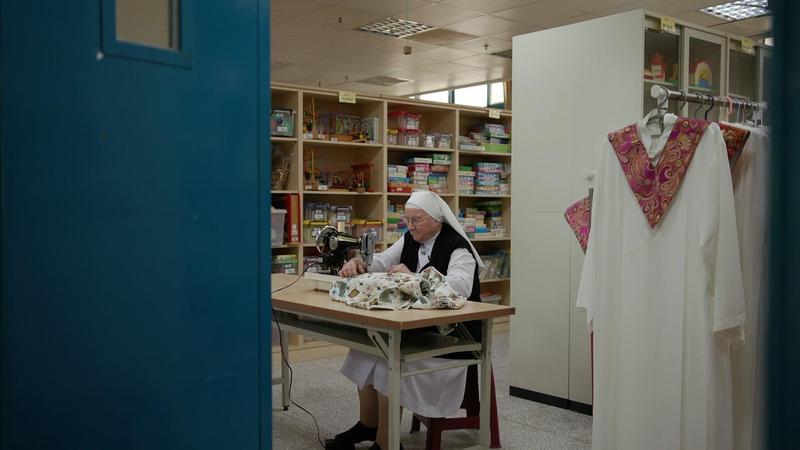 義大利修女裴嘉妮在臺灣服務逾半個世紀。(公視提供)