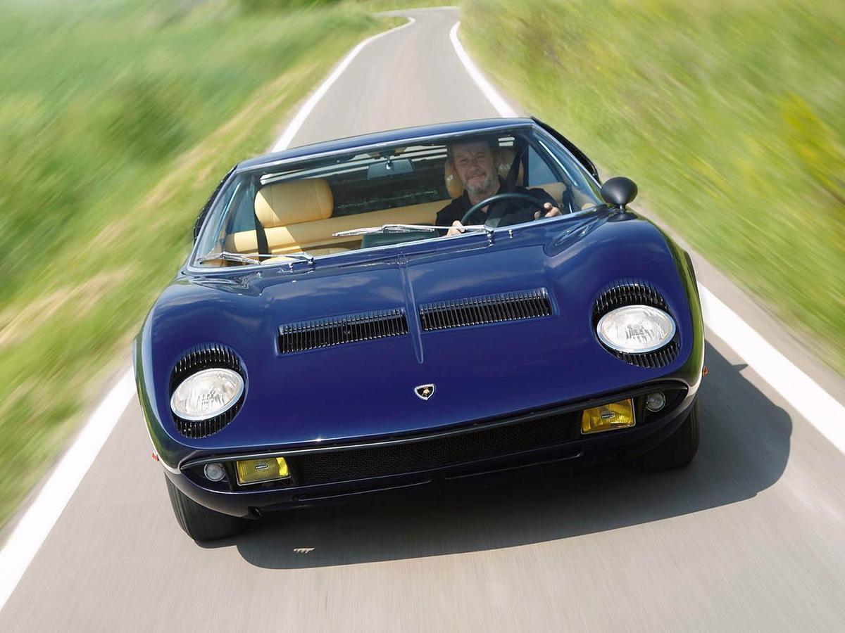 Miura是品牌首輛後中置引擎的跑車,也因為這樣讓這台車別具歷史意義。