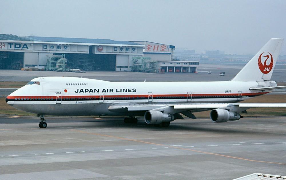日航「JL123」發生空難後,編號遭永久註銷。(翻攝自維基百科)