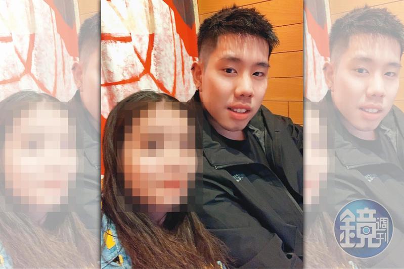 婦仇者聯盟指控男子翁嘉駿自稱台科大高材生,還曾拿畢業證書證明,結果事後被揭穿,翁才坦承證書是偽造的。(讀者提供)
