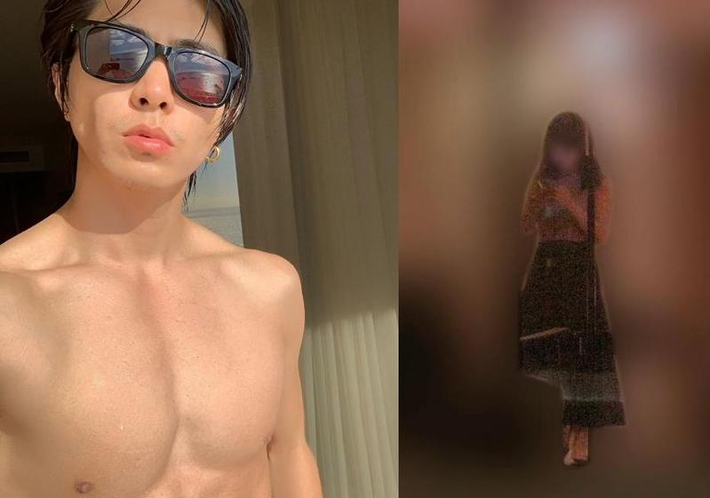 山下智久被拍到與17歲未成年女模過夜。(左翻攝山下智久IG,右翻攝週刊文春網站)