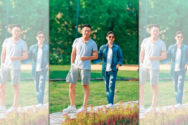 陸媒爆料,大S(右)與老公汪小菲(左)合體上真人秀,稅後的酬勞上看新台幣8,400萬元,兩人曾出演夫妻綜藝《幸福三重奏》。(翻攝自《幸福三重奏》微博)