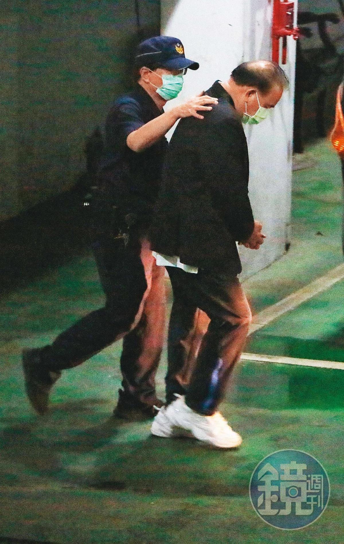 立委廖國棟(圖)涉嫌向李恆隆索賄7百多萬元,檢方訊後將他聲押禁見獲准。