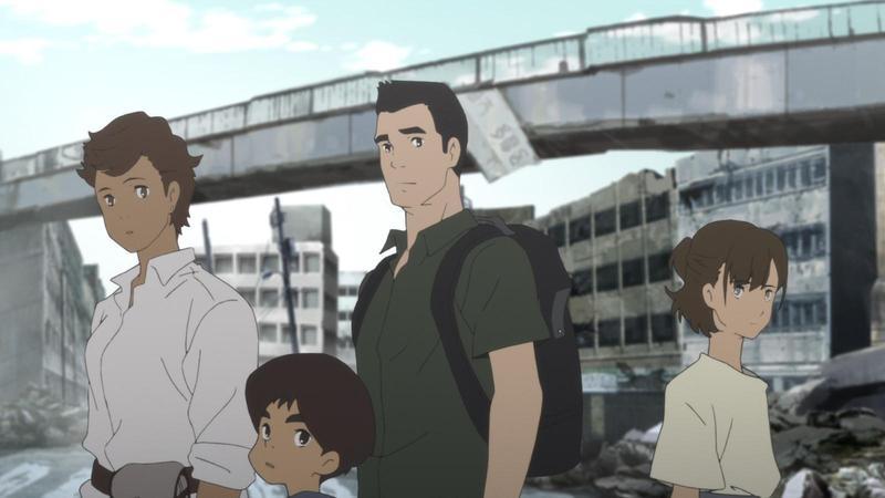 《日本沉沒2020》改編自1973年的經典小說《日本沉沒》,描述一個普通家庭在遭遇地震後展開的逃難之旅。(Netflix提供)