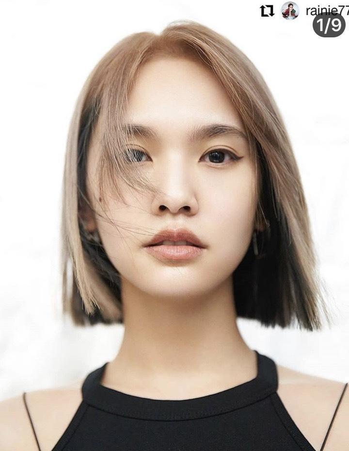 日前楊丞琳剪了一頭短髮,老公李榮浩稱讚是絕世美人。(翻攝自楊丞琳IG)