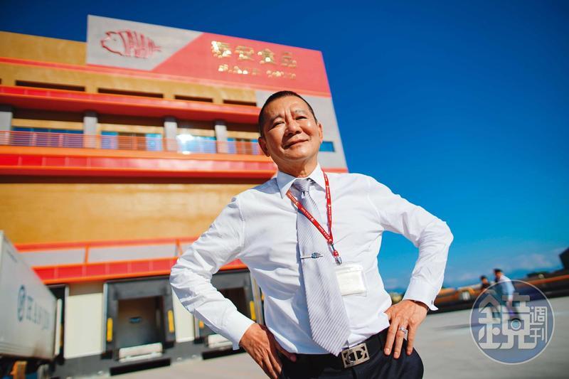 朱榮一從市場豬肉攤起家,靠著鐵人意志打造年收41億元的肉品王國。