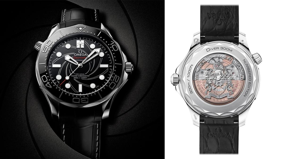 海馬潛水300米James Bond編號版腕錶|錶徑42mm、鉑金材質、時間指示、8807自動上鏈機芯、防水300米、建議售價NT$ 1,695,900
