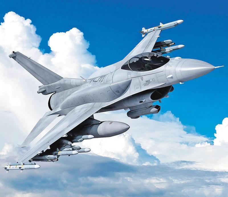美國國防部正式宣布,出售F-16V戰機(圖),大後年可交付首批戰機。(翻攝Lockheed Martin官網)