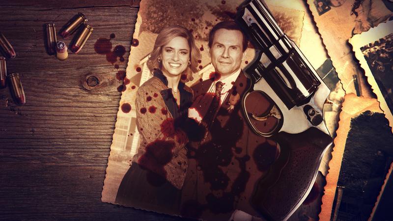 亞曼達彼特(左)飾演貝蒂,克里斯汀史萊特飾演丹尼。(Netflix提供)