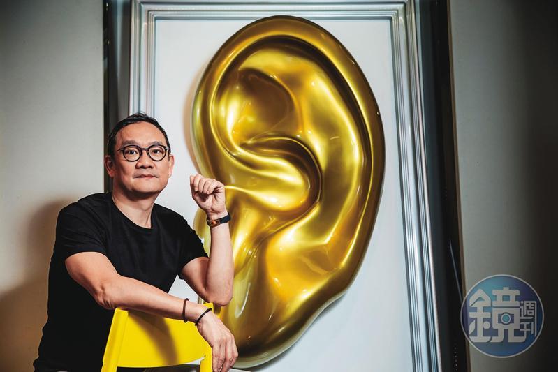 殷士偉深耕廣播廣告24年,做過超過3萬支聲音廣告,去年公司營收3.3億元。