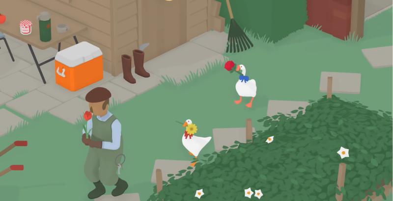 《無名鵝愛搗蛋》將在9月23日免費更新支援雙人模式。(翻攝YouTube頻道「House House」)