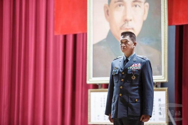 金防部指揮官賀政中將去年7月上任。(軍聞社提供)