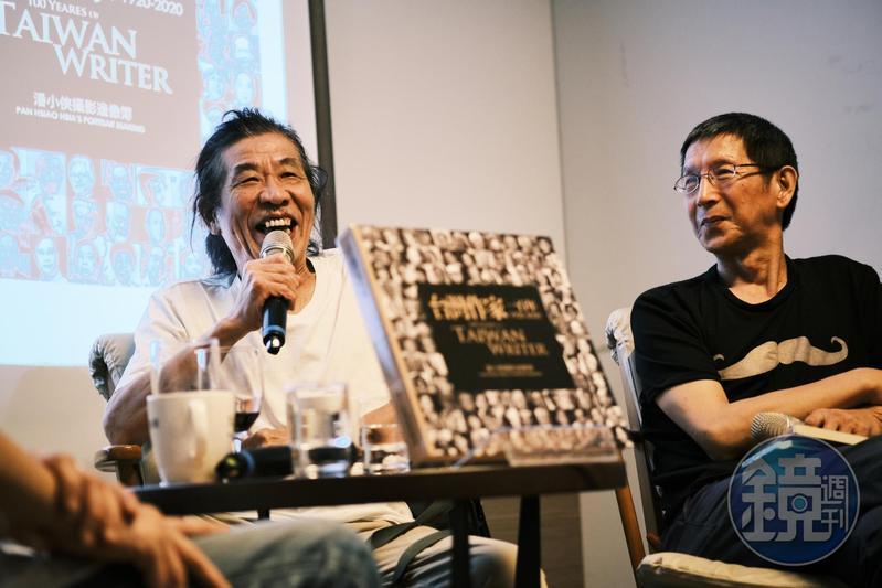 潘小俠拍照40年,其間意外發掘金門王、李炳輝,一度中斷拍照,直到與兩人解約、金門王去世後,才重拾相機。