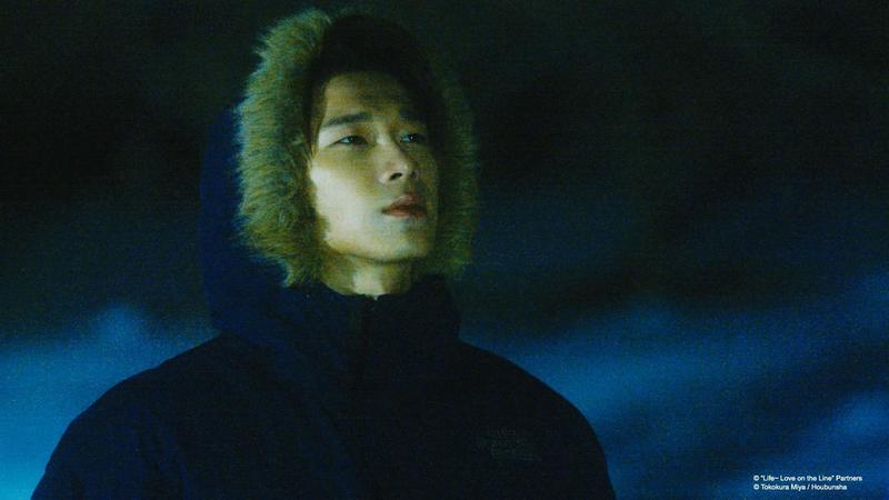宋偉恩到仙台拍《Life線上的我們》時氣溫是零下9度,整個劇組都快被凍僵。(KKTV提供)