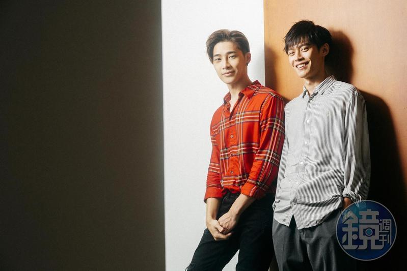 宋偉恩(左)、黃雋智到仙台拍攝《Life線上的我們》,卻得隱藏黃雋智也在場的消息,累壞整個劇組。