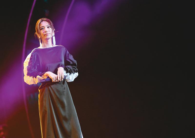Hebe田馥甄近期為了9月底在台北小巨蛋舉辦的4場《一一》演唱會閉關彩排。(東方IC)