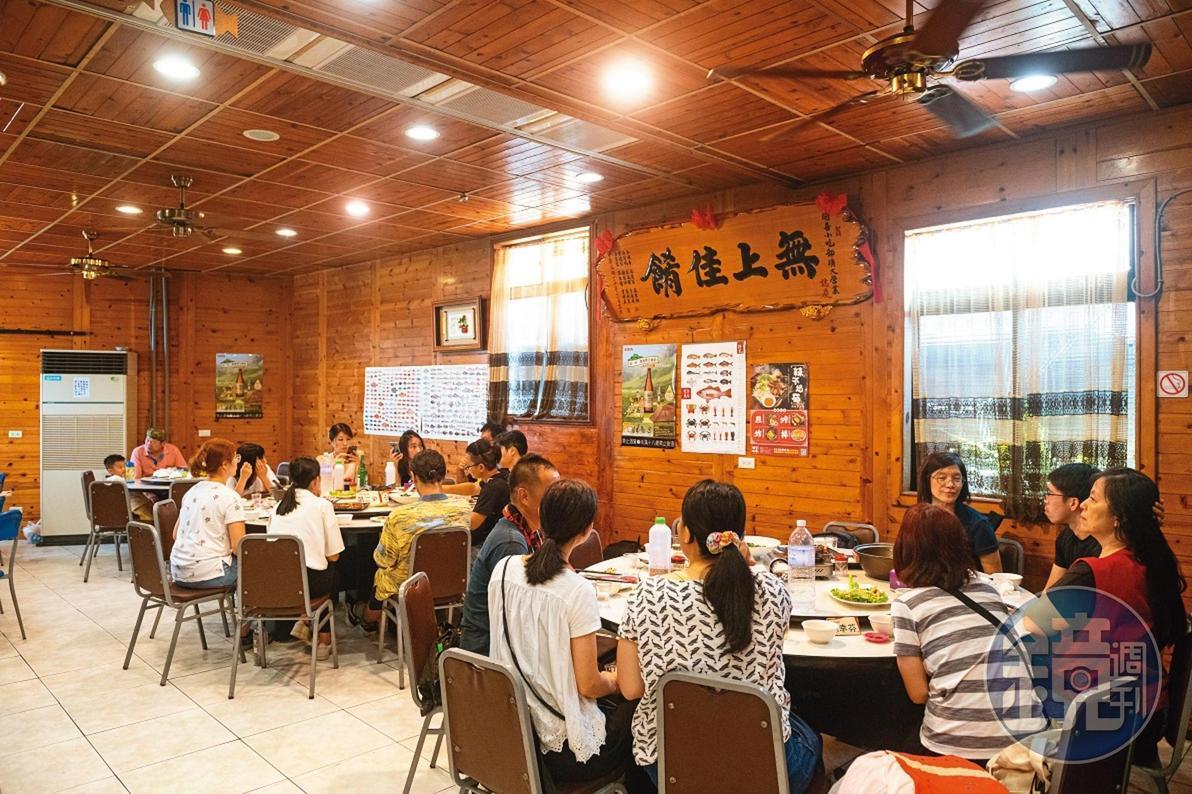開業30多年的「開喜小吃部」,是在地宴客的美味餐廳。