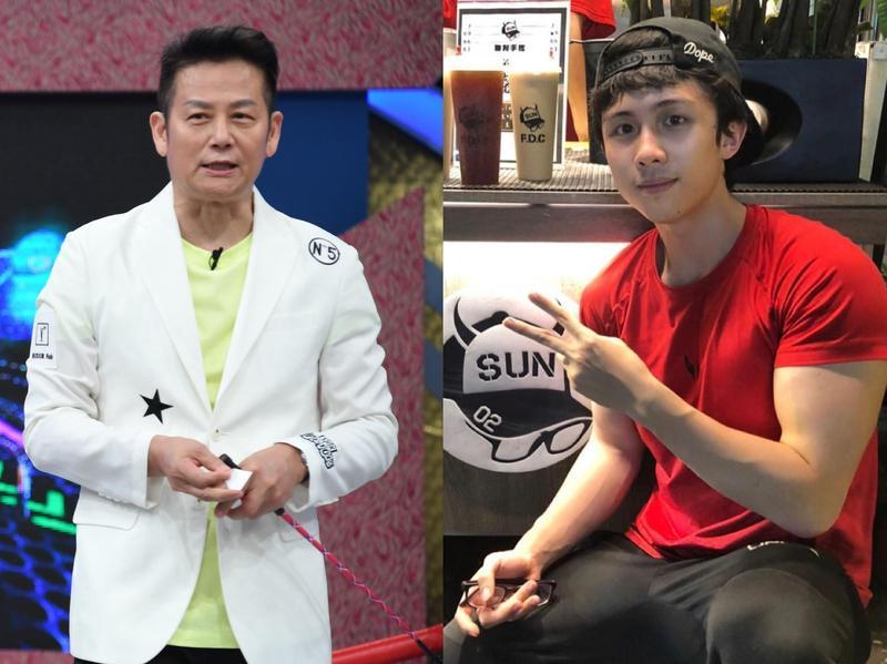 徐乃麟(左)對於孫安佐(右)遭到起訴一事,認為法官應該給年輕人一個自新的機會。(華視提供、翻攝自孫安佐IG)