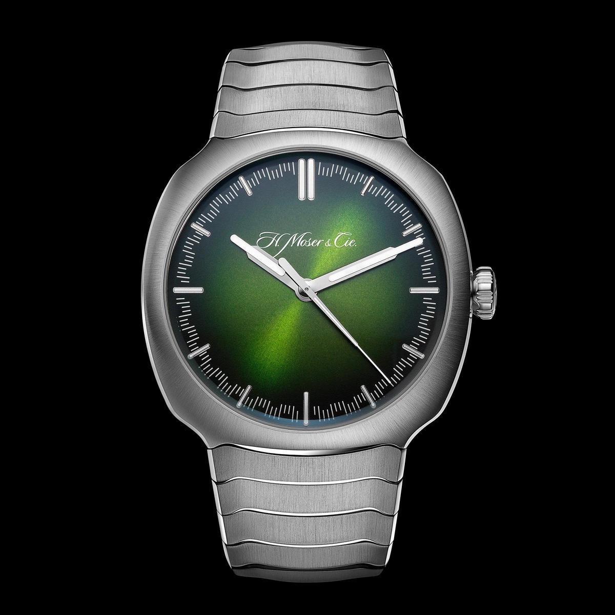 全新Streamliner大三針腕錶,定價NT$708,000。