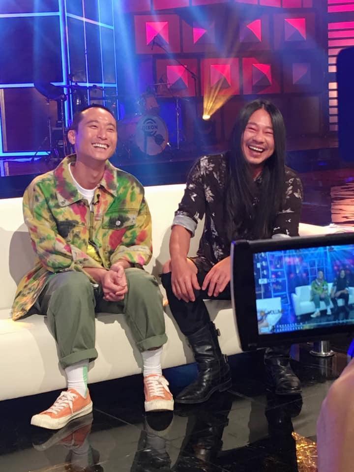 浩子與乱彈阿翔以公視《台灣金頌》入圍綜藝節目主持人獎,但節目已停播。(翻攝自台灣金頌粉專)